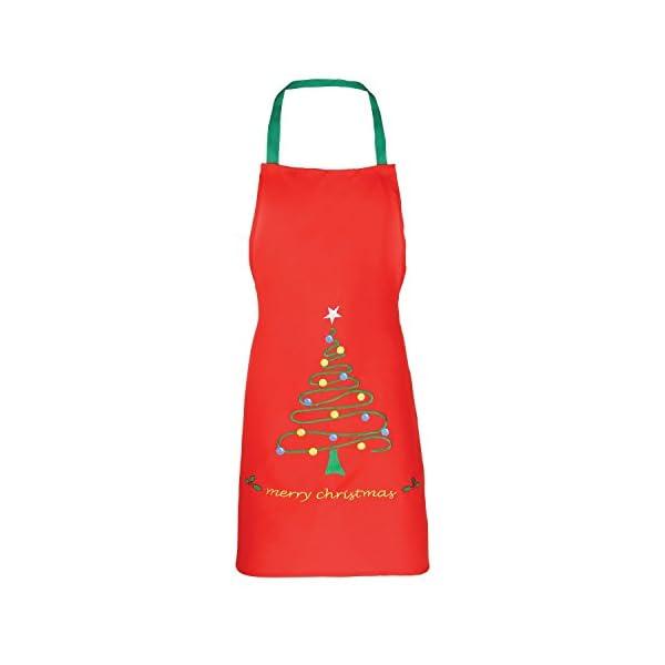 Christmas Shop Unisex Christmas Apron (2 Designs)