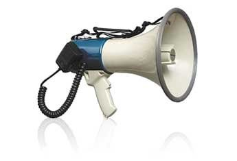 RadioShack 10W Handheld Powerhorn with Detachable Microphone
