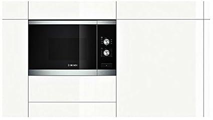Bosch HMT72G654 - Microondas grill, 20 l, sin marco, cristal, color negro: Amazon.es: Hogar