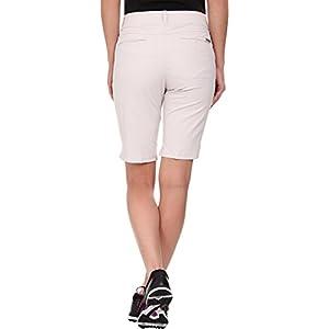 adidas Golf Women's Essentials Lightweight Capri, Pearl Grey, Size 0