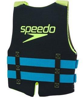 Speedo Youth Life Vest Green Black Blue 50-90lbs.