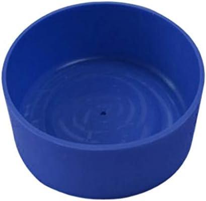 perfeclan Gesoleerde flessenkoeler siliconen flessenhoes waterfles bottom afdekking vele kleuren selectieblauw