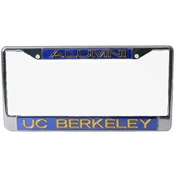 california golden bears metal alumni inlaid acrylic license plate frame berkeley