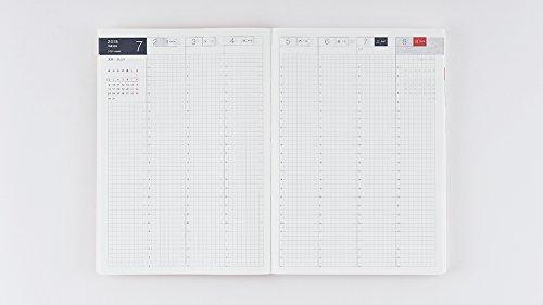 Hobonichi Techo Cousin - Liberty Fabrics: Fluttering Set (Japanese/A5/Jan 2018 Start) by Hobonichi Techo (Image #5)'