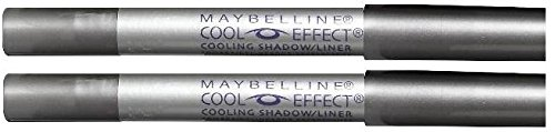 Maybelline Cool Effect Eyeshadow AND Liner STEELY GAZE #50 (PACK OF 2)