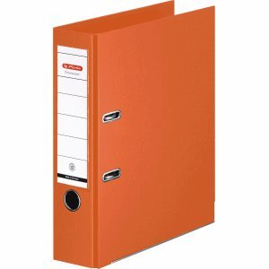 herlitz Ordner maX.file protect A4 orange 80 mm