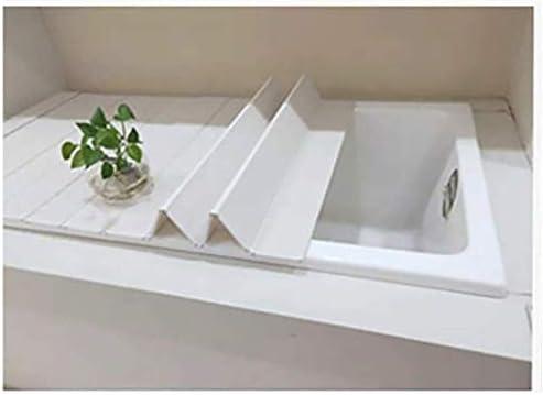 浴槽カバー防塵ボード折りたたみ式浴槽断熱カバーPVCブラケット浴槽浴槽浴槽カバー浴槽ラック浴槽収納ラック (Size : 170*80*0.6cm)