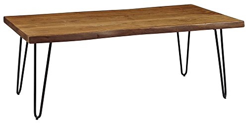Jofran 1780-1 Nature s Edge Cocktail Table, 50 W X 26 D X 18 H, Acacia Finish, Set of 1
