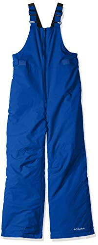 Columbia Boys' Big Snowslope II Bib, Super Blue, - Super Snowsuit