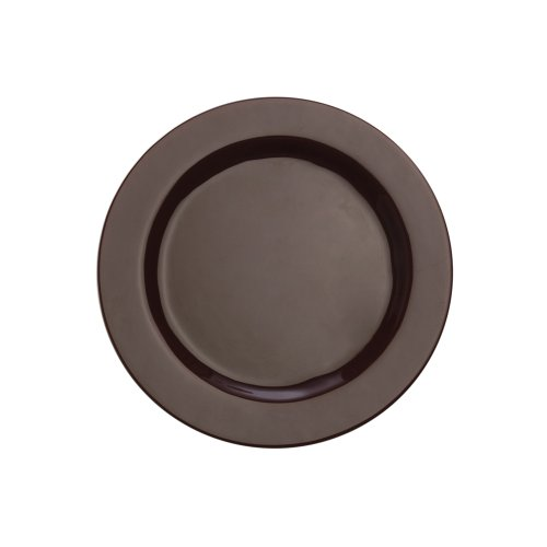 (Maxwell and Williams Paint 12-1/2-Inch Rim Platter, Maroon)