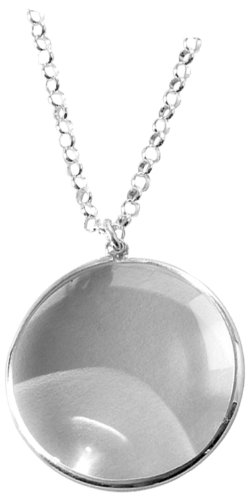 Sterling silver magnifying glass on 30 chain hallmarked mothers sterling silver magnifying glass on 30 chain hallmarked mothers day gift aloadofball Image collections