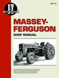 Massey Ferguson 230 Tractor Service Manual (IT Shop): Home Improvement -  Amazon.comAmazon.com