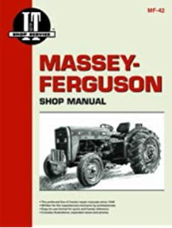 amazon.com: massey ferguson 240 tractor service manual (it shop): home  improvement  amazon.com