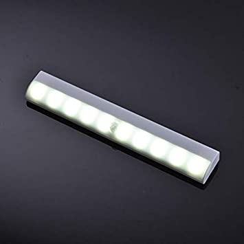 Stephanie This Product Belongs to Home - led Motion Sensor Wall Light Lamp Closet Light Bar Stick-on Anywhere Cabinet Bathroom Bedroom Light Stairway Indoor Lighting - by 1 PCs