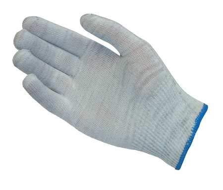 Antistatic Gloves, S, Nylon/Carbon, PK12