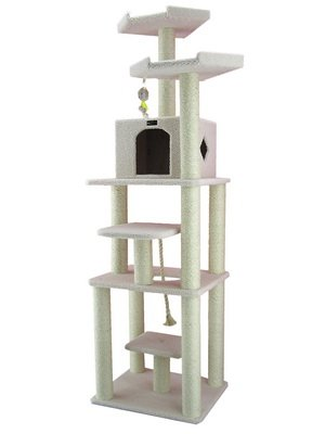 Armarkat Cat Tree Model B7801, Alabaster