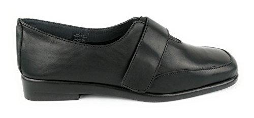 Confort Zerimar Chaussures Bordeaux Taille Femme Noir Couleur En Cuir Pour 36 ZwfnWFXTqw