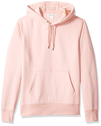 Amazon Essentials Men's Hooded Fleece Sweatshirt, Pink, X-Small