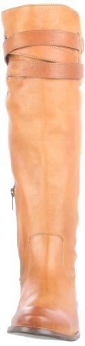 Stivaletti stivali Frye W SHIRLEY STRAPPY scarpe da donna taglia 40 US 9 Tan