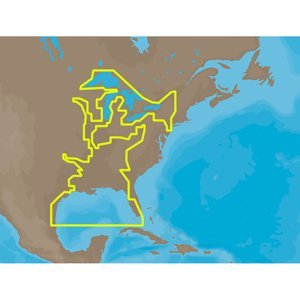 C-Map Na-M023 Sd Card Format Us Gulf Coast & Inland Rivers by C-Map / Usa (Image #1)