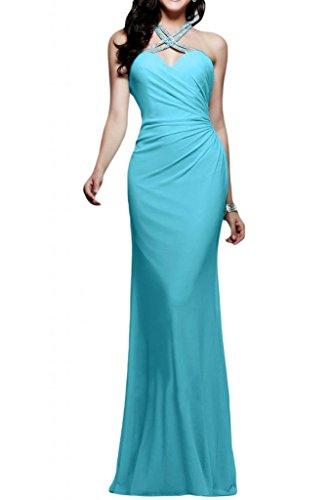 glamour novia vestidos Rueckenfrei de la largo de vestidos de fiesta duro Azul Toscana de la noche Sirena por fútbol de la de de gasa Prom qXx86a8wp