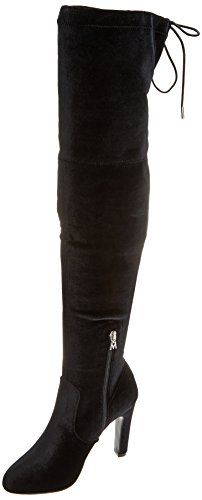 Donna velvet Chanty Elastic Mare C35203 Maria Negro Nero Stivali F5qR4tx