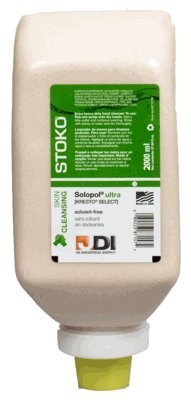 Kresto Select 87157-2000ml Stoko Solvent Free Hand Cleaner (New Name: Solopol Ultra) (9 Pack)