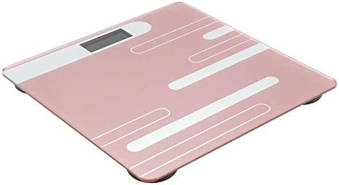 Bathroom Scale High Load-Bearing Glass Scale USB Rechargeable LCD Display Human Weighing Digital Scale