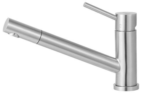 Alfi Kitchen Faucet (ALFI brand  AB2025 Solid Pull Out Single Hole Kitchen Faucet, Stainless Steel)