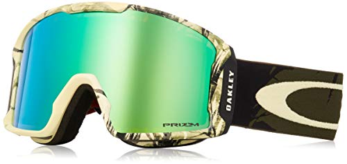 (Oakley Line Miner Snow Goggle, Rokka Army Green, Large)
