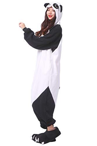 Panda Onesies Intero Pigiama Costume Cosplay Animali Unisex TvwpFq0