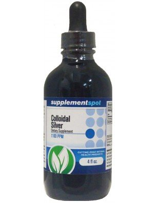Colloidal Silver, 1100 ppm by Supplement Spot