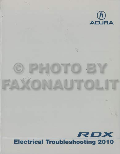 2010-2012 Acura RDX Electrical Troubleshooting Manual Original