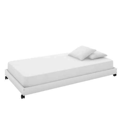 CorLiving BMB-415-P Monterey Solid Wood Trundle Bed, White