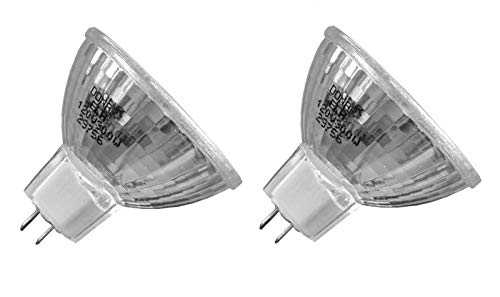 2pcs ELH 120V 300W RM-129 Donar Bulb for Bell & Howell 448 452 454 , Slide Cube 985 , 986 987 991 1000 3000 , Slide Cube Z , CP40 RC50 RC55 RF60 AF66 AF70 AF80 , Autoload Film Strip 746A , 746F 747A