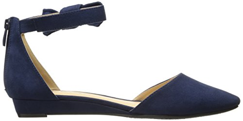 Toe Suede Chinese Laundry Navy by CL Pointed Super Sonje Women's Flat EY5vnqxpw