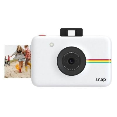 Polaroid Snap Instant Digital Camera (White) with ZINK Zero Ink...