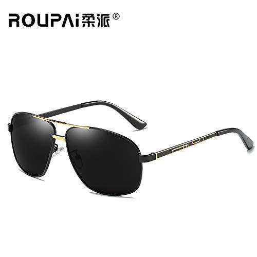 nbsp;Protection Lunettes Outdoor Cheval pour UV400 Lunettes randonneurs frame de sunglasses Mode Soleil Mjia Homme Sport gold à pêche de Black xvqa7