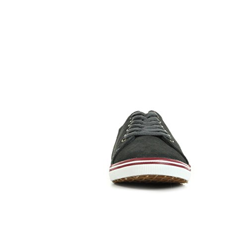 Fred Perry Kingston Suede Charcoal B7448491, Deportivas