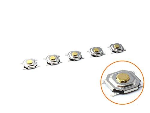 面実装タクトスイッチ 極薄 5×5×1.3mm 5個セット