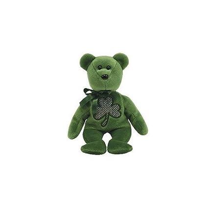 531c9c2d072 Amazon.com  Ty Beanie Babies 2.0 Luckier  St. Patrick s Day bear  Toys    Games