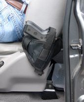 Pro-tech's concealed Seat Buddy for Trucks and SUV