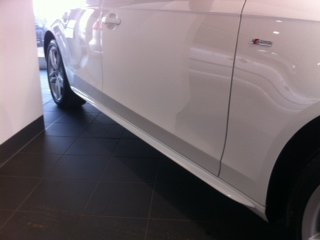 AUDI A4 B8 Side Strips Side Sills S Line Spoiler