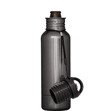 BottleKeeper - The Standard 2.0 - The Original Stainless Steel Bottle Holder and Insulator to Keep Your Beer Colder (Red)