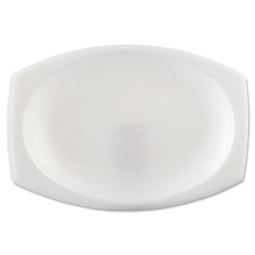 Solo 9PRWCR Foam Dinnerware, Oval Platter, 6 3/4