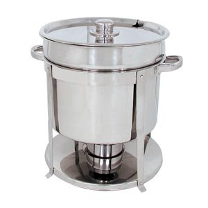 11 QT STAINLESS STEEL COMMERCIAL SOUP CHAFER CHAFING DISH