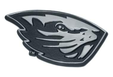 University of Oregon O Chrome Auto Emblem by Elektroplate