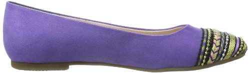 Trend Multicolore 596 Comb purple Femme Tamaris Ballerines wtppP