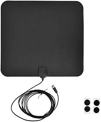 BTIHCEUOT Amplificador de señal de HDTV para Interiores con Amplio Rango de Antena de TV con Cable coaxial Digital HD Amplificado de 9.8 pies HD 1080P (Sin Amplificador: 5DB): Amazon.es: Electrónica