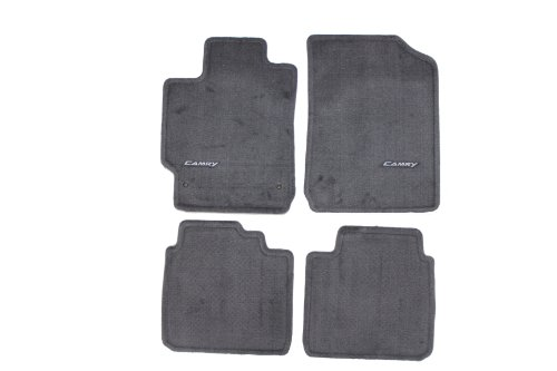 Genuine Toyota Accessories PT206-32100-12 Custom Fit Carpet Floor Mat - (Gray) (Carpet Toyota Mats)